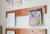 Displaying Printables and Art / Ideas on how to display all your free printables!