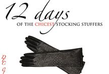 12 Days of The Chicest Stocking Stuffers