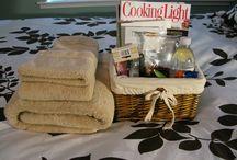 Guest basket & ideas