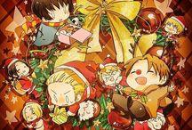 Hetalia AU: Christmas