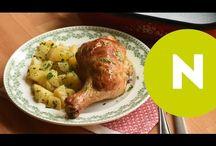 Csirkecombos ételek