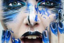 Geometry Lines Makeup by Alena Philippova
