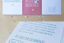 Convite Madrinha / Padrinho