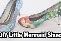 Ariel/Little mermaid Diys