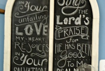 Chalkboards / by Randa Clay