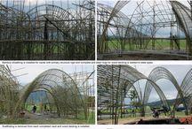 Structures géantes en Bambou