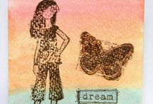 CTMH Dreamer / CTMH's gorgeous stamp set Dreamer