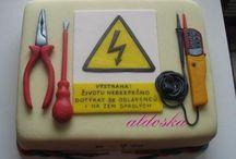 elektrikář dort