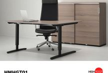 Ergonomic Desks / Highmoon Furniture is the only place where you can get great collection of ergonomic desks like height adjustable desk, sit stand desk, motorized desk etc.