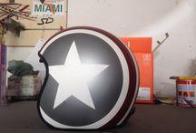Helmet customized / Personalizzazioni caschi
