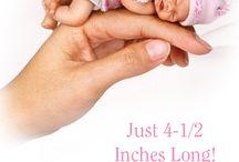 Κούκλες/All Kinds of DOLLS-CUTE&SWEET  REBORN VINYL&SILICONE BABY DOLLS FACES