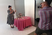retrò shooting / Behind the scene of a funny and fab shooting! Can't wait for thr pics #passionforfashion #teatime #havefun #carolyndeladrapiere