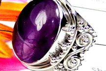Amethyste / Shaurya International Silver Jewelry Handmade Work In Jaipur India