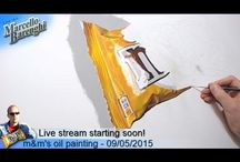Oil painting LIVE Art / Oil painting by Marcello Barenghi #marcellobarenghi #art #live #streaming