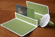 Gift Card holders / by Judy Mann