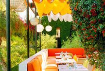 Palm Springs / Palm Springs CA inspiration (mid century modern, colorful)
