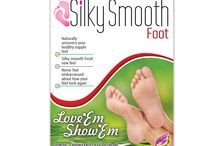 Silky Smooth Foot's Images / The images we use at our websites and on Amazon.com