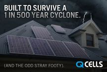 Q Cells Solar Panels / We use only the best - German technology tried and tested for Australian conditions.