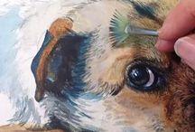 Honde verf