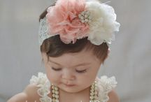 to my pink girl / Baby accessories to my pink girl, pacifier clip, baby headband and more.