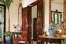 colonial interior