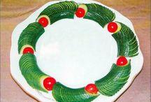 salad decorated