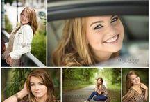 Senior Girl Portraits Posing