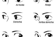 ojos dibujo