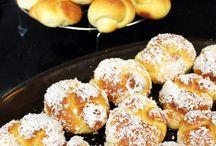 pães e bolos salgados