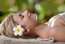 face massage flowers