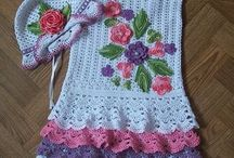 AlidaProjects to Try / crochet girls dress