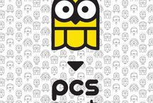 PCS smart brand redesign by DGPH