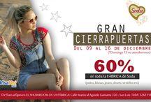 GRAN CIERRAPUERTAS SODA * Del 09 al 16 de diciembre (menos el 13 dic) /