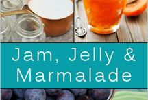 Jams, Jellies , Syrups & Sauces / by Theresa OBrien