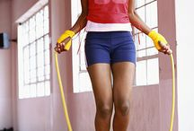 Jump Rope Workout / A collection of exercises that use a jump rope