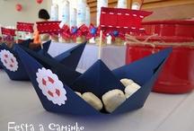 Festa tema náutico / Decoração de festas infantis com tema náutico