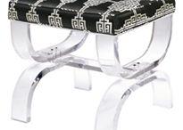 Acrylic - Lucite - Plexiglass - Furniture