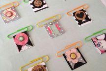 Paper clip embellishments