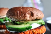 Recipe / Sweet potato burger