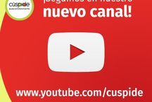 Youtube / Nuestro canal en Youtube www.youtube.com/cuspide