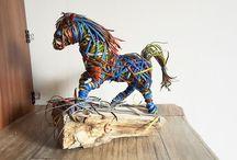 decoration horse / horse