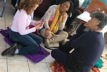 Full Moon Retreat - February 24th, 2018 / We had a wonderful time we had together on February 24th at the Full Moon Retreat on my sacred garden.