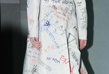 """Raf Simons / """"Simons, the coolest of designers, tells us differently."""""""