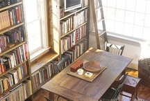 Bookshelves & Shelving / by Tiffany Walthall