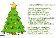 karácsony versek, dalok