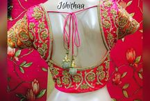 Embroidery Designs For Bridal Blouse !! / Choosing a perfect blouse design for silk saree or classic wedding saree. Select from the collections of these blouses. Embroidered bridal blouse from Ishithaa Design House ! For booking call or whatsapp 9566951451 For more details visit : https://www.wikiwed.com/wedding-boutiques-coimbatore/3