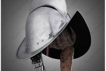16th & 17th century helmets
