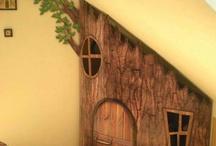 Tree house cubby