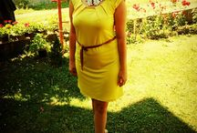 By Sarah / Yellow Dress Sunday