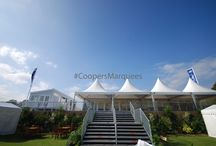 Coopers Marquees - China Hats and Walkways